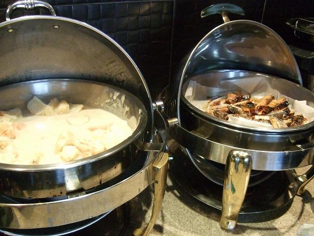 ラウンジモーニング焼き魚
