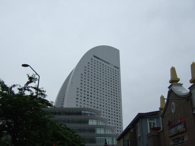 ホテル遠景
