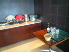 ラウンジ配膳室