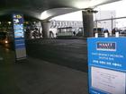 インチョン空港シャトルバス乗り場
