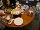 ラウンジモーニング卵料理