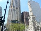 ウォータータワーとパークハイアットシカゴ