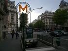 最寄地下鉄Courcelles駅