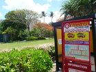 ハイアットグアム赤いバス乗り場