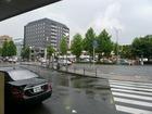 八条口バス乗り場(案内無し)