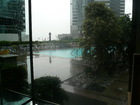 コンラッド香港ガーデンプール横