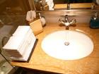 コンラッド香港ラウンジ洗面台