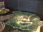 ラウンジモーニングサラダ皿