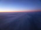 夜明け巻雲
