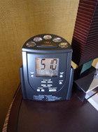 ラジオ付き時計