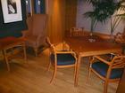 15階クラブラウンジ喫煙ルームテーブル
